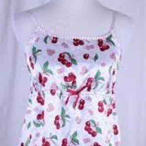 Nick & Nora Cherries Nightgown